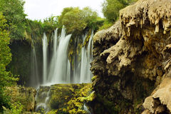 Yerkopru vattenfall Royaltyfri Fotografi