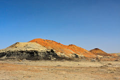 Yermo de los Badlands de Bisti imagen de archivo libre de regalías
