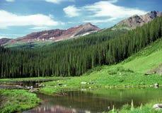 Yermo de montaña foto de archivo libre de regalías