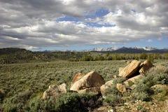 Yermo de Wyoming Foto de archivo libre de regalías