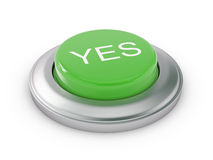 Yes Button Royalty Free Stock Photos