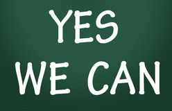 Yes we can symbol Royalty Free Stock Images