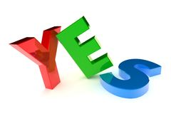 Yes Concept Royalty Free Stock Image