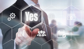 Yes Concept Stock Photography
