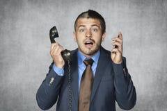 Yes, i am multitasking Stock Images