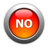 Yes and no button Royalty Free Stock Image