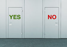 Yes or No, concept of choice