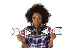 Yes or No Royalty Free Stock Photos