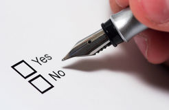 Free Yes Or No Stock Photos - 880733