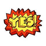 Yes symbol Royalty Free Stock Photo