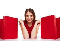 Yes to shopping Royalty Free Stock Photo