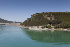 Yesa reservoir Stock Image