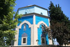 Yesil (Green) Mausoleum Stock Photo