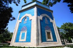 Yesil (Green) Mausoleum Royalty Free Stock Images