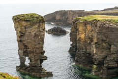 Yesnaby Sea Stack, Orkney, UK Stock Photos