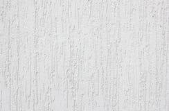 Yeso blanco con las manchas en la textura de la pared Foto de archivo libre de regalías