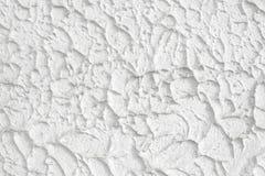 Yeso blanco rociado Fotos de archivo