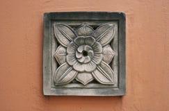 Yeso de la cresta de la flor Imagen de archivo libre de regalías