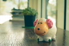Yeso de las ovejas Imágenes de archivo libres de regalías