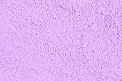 Yeso decorativo del color violeta Fondo, textura Fotografía de archivo libre de regalías