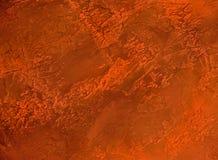 Yeso decorativo red-orange3 imágenes de archivo libres de regalías