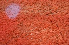 Yeso pintado naranja Foto de archivo