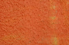 Yeso pintado naranja Imagenes de archivo