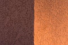 Yeso texturizado bicolor Imagen de archivo libre de regalías