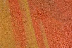 Yeso texturizado multicolor Foto de archivo