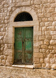 Yesterday, a doorway in old Bethlehem, Israel Royalty Free Stock Image