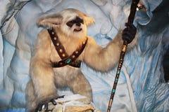 Yeti με ένα ραβδί Στοκ Εικόνα