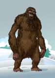 Yeti. Royalty Free Stock Images