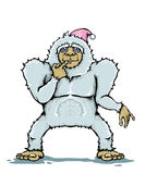 Yeti monster Royalty Free Stock Photo