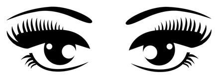 yeux Photo stock