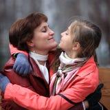 Yeux aux yeux Photographie stock libre de droits