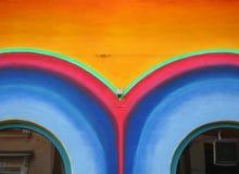 Yeux colorés Photo libre de droits