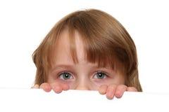 yeux d'enfant Photographie stock libre de droits