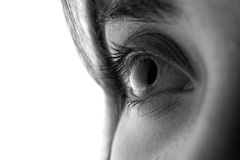 Yeux d'une jeune fille Photographie stock libre de droits