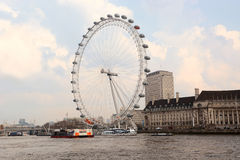 Yeux de Londres Photographie stock