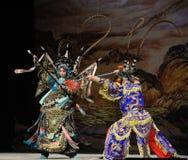 """Yeux de lynx et généraux de main ou agiles agiles de doigts de Pékin Opera"""" de femmes de  de € de Yang Familyâ Photographie stock"""