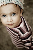 Yeux innocents photo stock