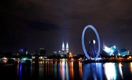 Yeux sur la Malaisie Photo stock