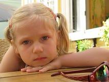 Yeux tristes Photo stock