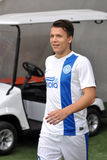 Yevgen Konoplyanka is going to the field Stock Photo