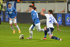 Yevgen Konoplyanka is running with the ball Stock Photography