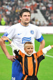 Yevgen Seleznyov player of Dnipro Royalty Free Stock Photo