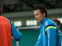 Yevhen Konoplyanka - ukrainian national soccer team player Royalty Free Stock Photo