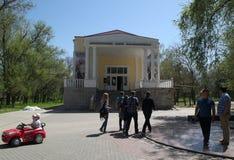 YEYSK KRASNODAR, ROSJA, MAJ,/- 01, 2017: muzeum Ivan Poddubny w parku dom mistrz Obrazy Stock
