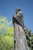 YEYSK, KRASNODAR/RUSSLAND - 1. MAI 2017: das Monument nach Sankt Nikolaus Lizenzfreies Stockbild