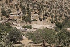 Yeziditempel in Lalish, Iraaks Koerdistan royalty-vrije stock afbeeldingen